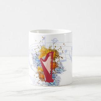 Harp Color Blast Coffee Mug