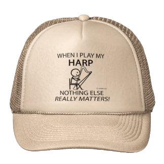 Harp Nothing Else Matters Hat