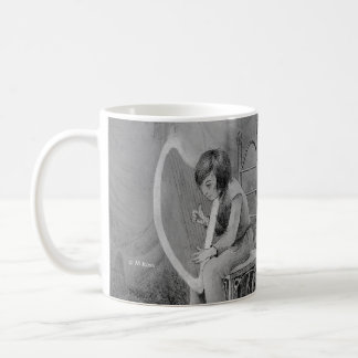 Harp of moonlight, played for the Woodland King Coffee Mug