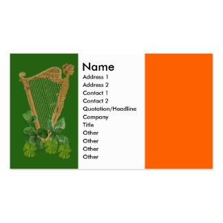 Harp of Tara Business Cards