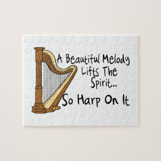 Harp On It Jigsaw Puzzle