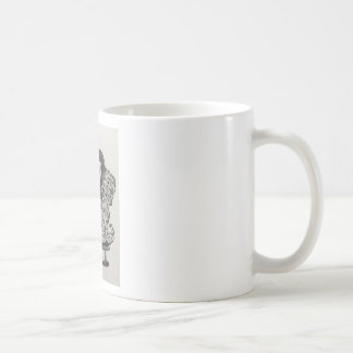 Harp puppy coffee mug