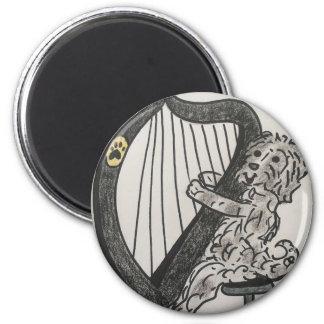 Harp puppy magnet