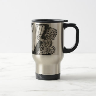 Harp puppy travel mug