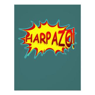 HARPAZO! (Rapture) 21.5 Cm X 28 Cm Flyer