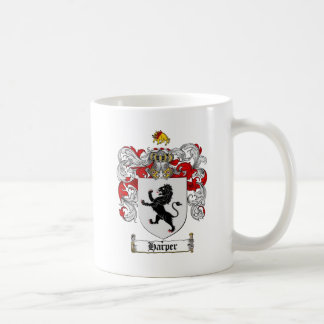 HARPER COAT OF ARMS - harper family crest Coffee Mug