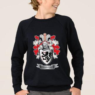 Harper Family Crest Coat of Arms Sweatshirt