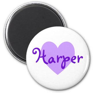Harper in Purple Magnet