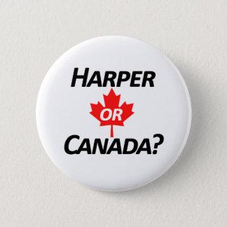 Harper or Canada? Merchandise 6 Cm Round Badge