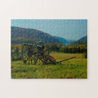 Harpers Ferry Old Cannon. West Virginia. Jigsaw Puzzle