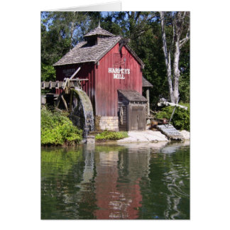 harpers mill greeting card