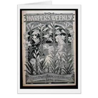 'Harper's Weekly', Christmas Announcements 1896 (l
