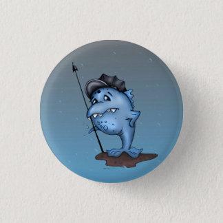 HARPO FUNNY ALIEN MONSTER CARTOON  Button small