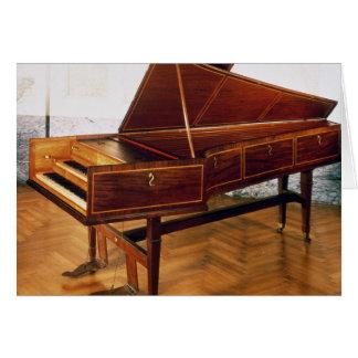 Harpsichord belonging to Franz Joseph Haydn Card