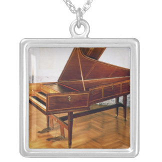 Harpsichord belonging to Franz Joseph Haydn Silver Plated Necklace