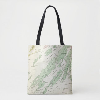 Harpswell, adjacent islands tote bag