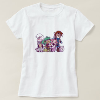 Harpy Gee Friends and Pets! T-Shirt