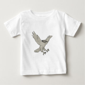Harpy Swooping Drawing Baby T-Shirt