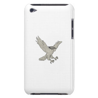 Harpy Swooping Drawing iPod Touch Case