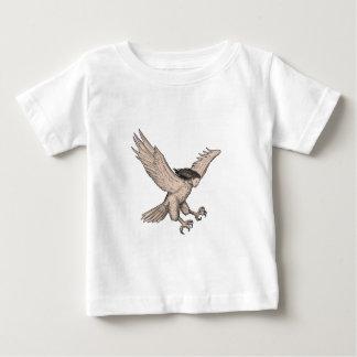 Harpy Swooping Tattoo Baby T-Shirt