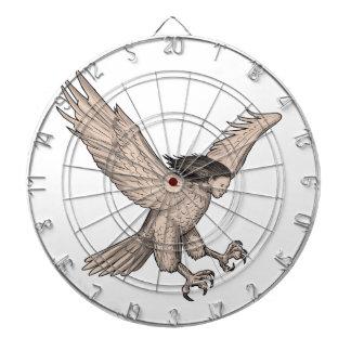 Harpy Swooping Tattoo Dartboard