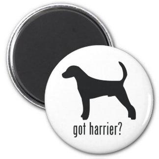 Harrier 6 Cm Round Magnet