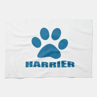 HARRIER DOG DESIGNS TEA TOWEL