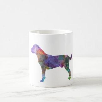 Harrier in watercolor 2 coffee mug