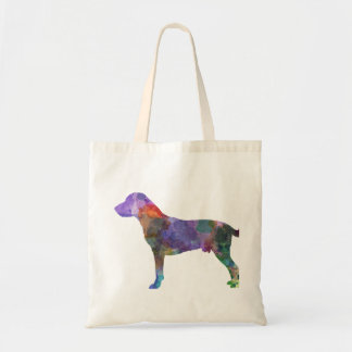 Harrier in watercolor 2 tote bag
