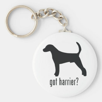 Harrier Basic Round Button Key Ring