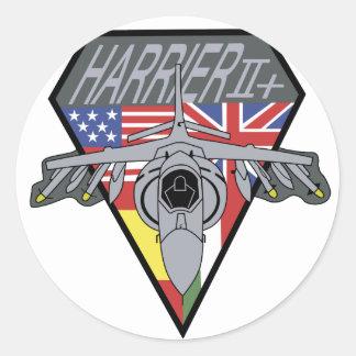 HARRIER Patch Classic Round Sticker