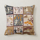 Harriet Powers - Pictoral Quilt 1898 Cushion