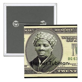 Harriet Tubman 15 Cm Square Badge