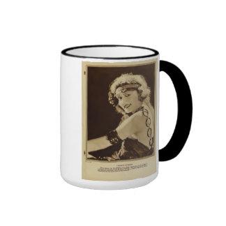 Harriett Hammond 1920 vintage portrait mug