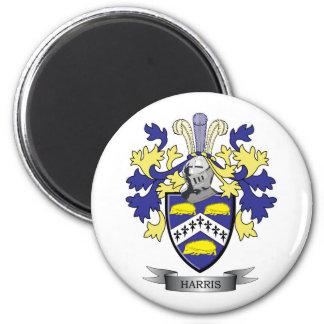 Harris Coat of Arms 6 Cm Round Magnet