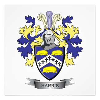 Harris Coat of Arms Photo Print