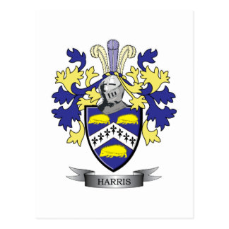 Harris Coat of Arms Postcard