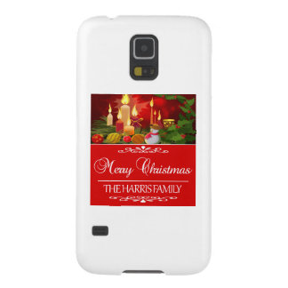 HARRIS FAMILY CHRISTMAS DESIGNS GALAXY S5 CASES