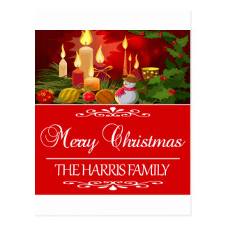 HARRIS FAMILY CHRISTMAS DESIGNS POSTCARD