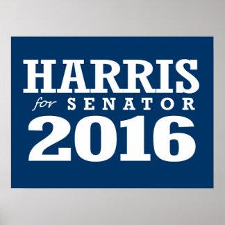 HARRIS FOR SENATOR 2016 POSTERS