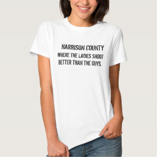 HARRISON COUNTY - AND WE SUPPORT THE 2ND AMENDMENT T-SHIRT