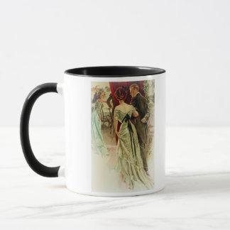 Harrison Fisher Girl When Man Marries To the Ball Mug