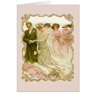 "Harrison Fisher ""The Wedding"" Card"
