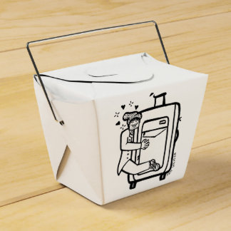 Harrison's Luggage Take out Box