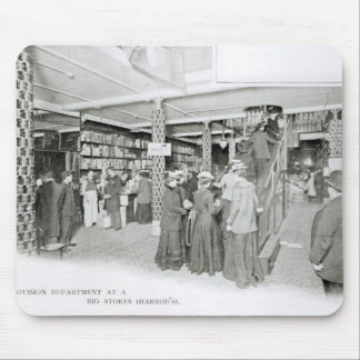 Harrods Provision Department, c.1901 Mouse Pad
