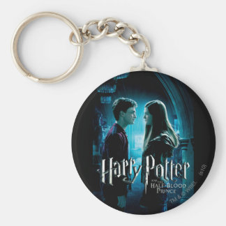 Harry and Ginny 1 Basic Round Button Key Ring