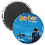 Harry and Hagrid International Movie Poster 6 Cm Round Magnet