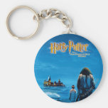 Harry and Hagrid International Movie Poster Basic Round Button Key Ring