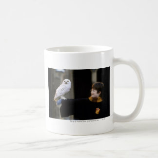 Harry and Hedwig 3 Basic White Mug