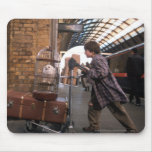 Harry and Hedwig Platform 9 3/4 Mouse Pad